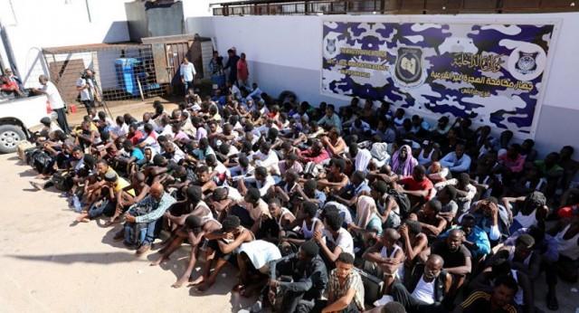 """""""الدولية للهجرة"""": المهاجرون بمراكز الاحتجاز في ليبيا أكثر عرضة لكورونا"""