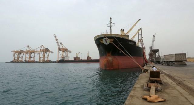 توجه أول سفينة حاويات مباشرة من جدة بالسعودية إلى ميناء الحديدة اليمني